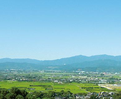 みのう山荘から見える景色