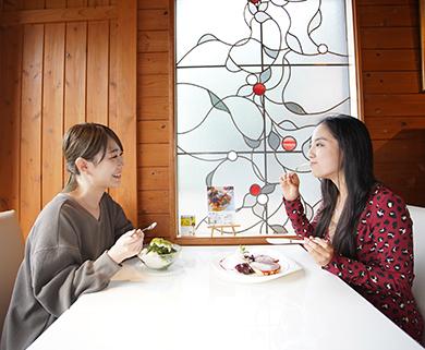 みのう山荘のレストラン