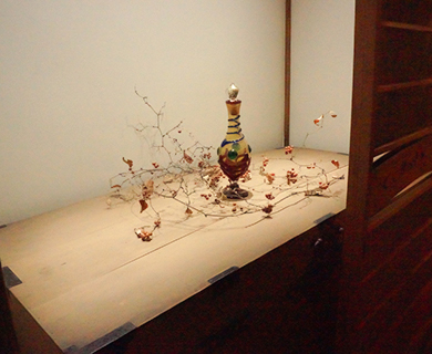 田舎ダイニングBasaraの装飾も美しい室内