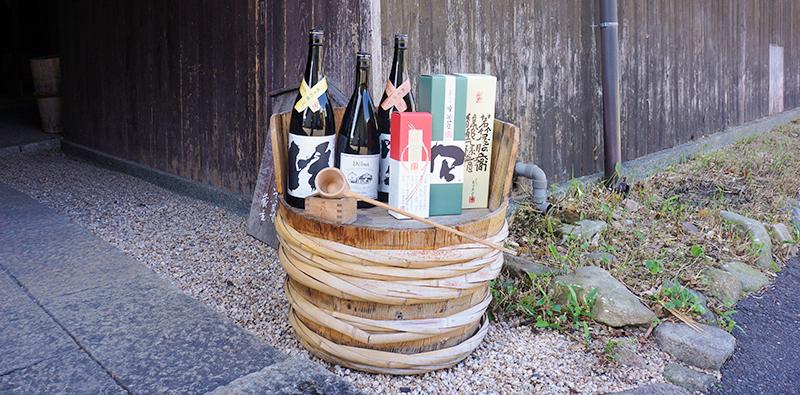 若竹屋酒造場・元禄蔵のお酒の数々