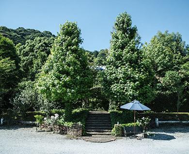 田主丸にあるグリーンヒルの入り口